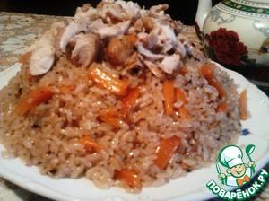 Рецепт Плов по-домашнему с курицей