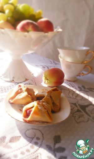 Рецепт Персики в тесте