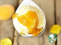 Сливочное мороженое с абрикосовой карамелью ингредиенты