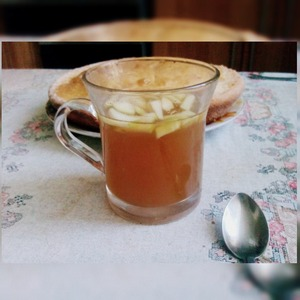 Рецепт Ароматный зелёный чай