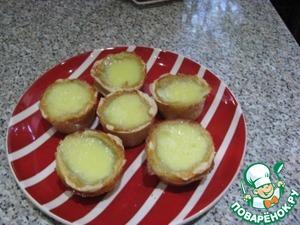 Рецепт Тарталетки со сладким кремом из яиц