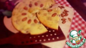 Рецепт Виноградно-финиковый пирог с орехами