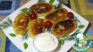 Рецепт Картофельные зразы с курицей и грибами