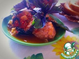 Рецепт Кебаб с баклажанами