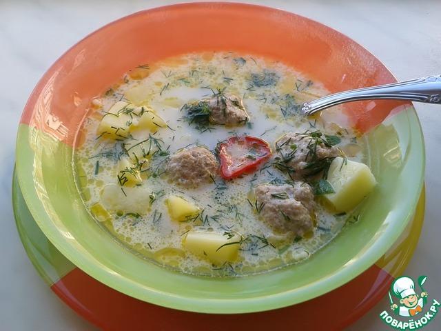 Сырный суп рецепт с фрикадельками