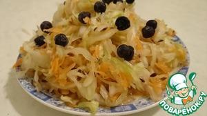 Рецепт Квашеная капуста по-сибирски