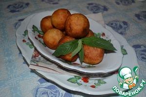 Рецепт Золотистые пончики