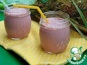 Рецепт Молочный коктейль с инжиром и вишней