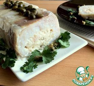 Рецепт Рыбный террин с морепродуктами