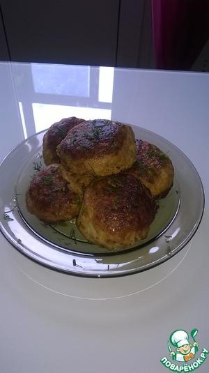 Рецепт Нежнейшие куриные котлетки с сыром
