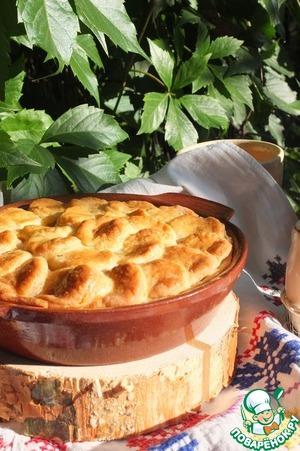Рецепт Песочный мини-пирог с мясной начинкой