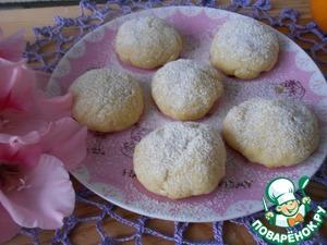 Рецепт Апельсиновое печенье в СВЧ печи