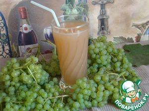 Рецепт Домашний виноградный сок