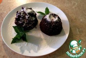 Рецепт Шоколадный кекс за 3 минуты