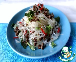 Рецепт Лапша в азиатском стиле