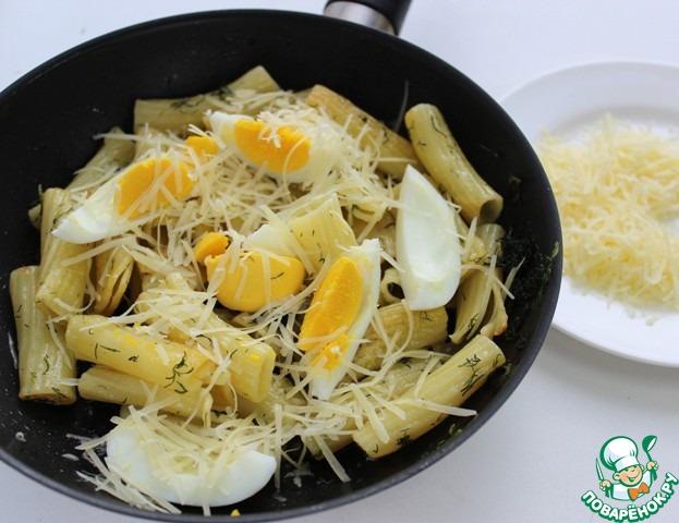 макароны с сыром на поваренок