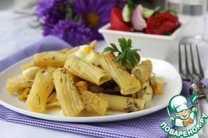 Рецепт Макароны с яйцом
