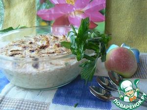 Рецепт Запеченная овсяная каша с йогуртом