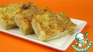 Рецепт Сырный пирог из теста фило. Тиропита