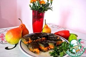 Рецепт Баклажаны квашеные с овощами