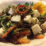 Салат с морской капустой Белое море