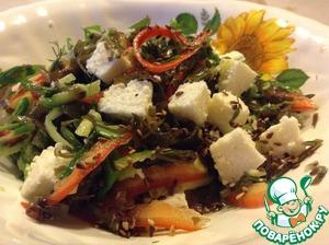 Салат крабовые палочки с китайской капустой рецепт