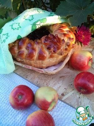 Рецепт Пирог с винной сливой