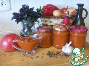 Рецепт Универсальный томатный соус с базиликом