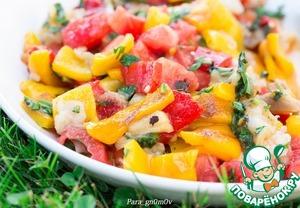 Рецепт Салат из овощей по мотивам хороваца