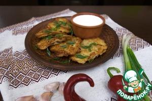 Рецепт Деруны или драники с мясом