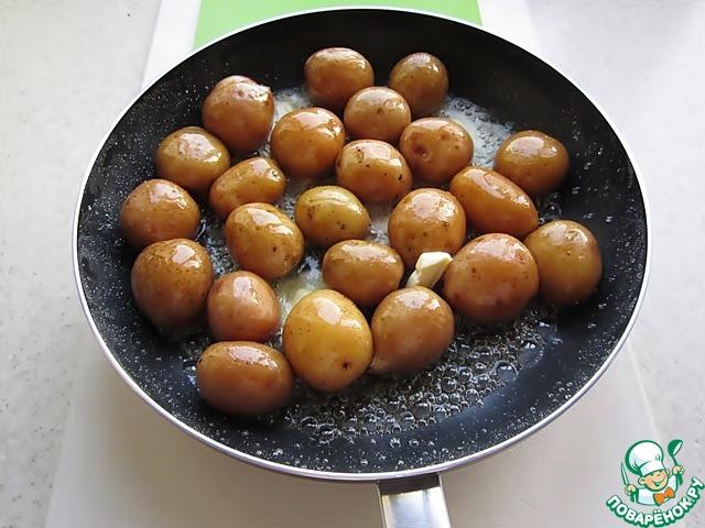 картофель по-датски рецепт с фото в карамели