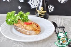Рецепт Кольца из лосося с шампиньонами