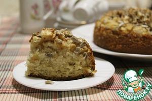 Рецепт Яблочный пирог с семечками