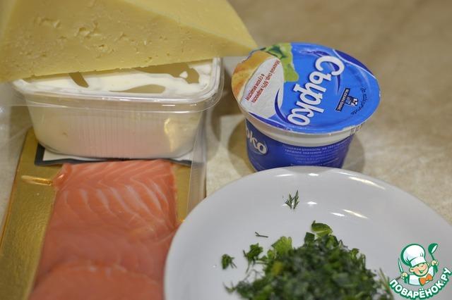 рецепт закуска из красной рыбы