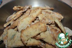 Рецепт Несладкое печенье с сушеными креветками