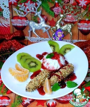 Рецепт Запеченные бананы с индийскими орехами