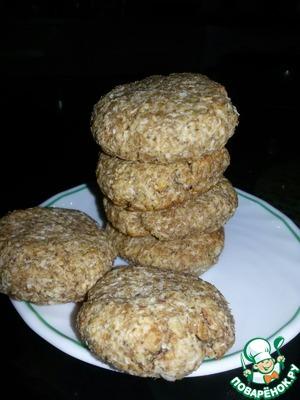 Рецепт Арахисово-кокосовое печенье