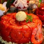 "Пирог без теста ""Подарок от Деда Мороза"""