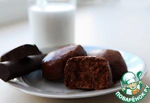 Рецепт Шоколадные заварные прянички