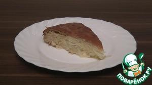 Рецепт Заливной капустный пирог