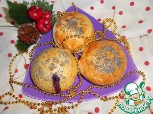 Рецепт Ванильно-маковые булочки