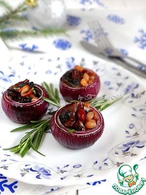 Рецепт Бочонки из фаршированного лука