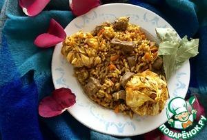Рецепт Согревающий Бириани с бараниной