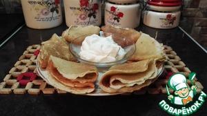 Рецепт Манно-овсяные блины