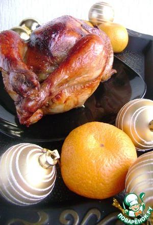 Рецепт Фаршированный цыпленок «ИзЮмительный»
