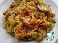 Закуска из квашеной капусты ингредиенты