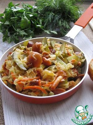 Рецепт Закуска из квашеной капусты