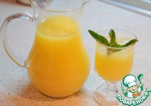 Рецепт Домашний лимонад с апельсинами