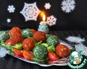 Рецепт Овощной салат с сюрпризом