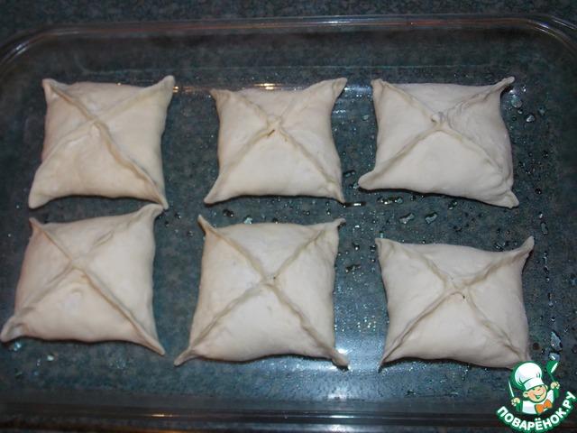 Булочки из слоеного теста  рецепты с фото на Поварру 45